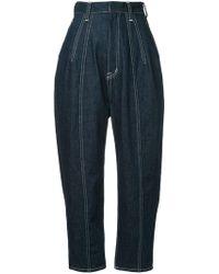 G.v.g.v - Contrast Stitch Trousers - Lyst