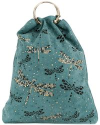 RED Valentino   Embellished Dragonfly Tote   Lyst