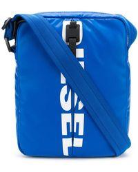 DIESEL - Logo Messenger Bag - Lyst