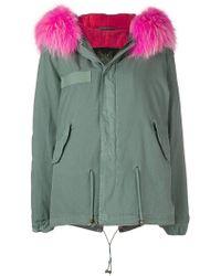 Mr & Mrs Italy - Fur Trim Coat - Lyst