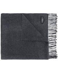 Givenchy - Logo Plaque Tassel Scarf - Lyst