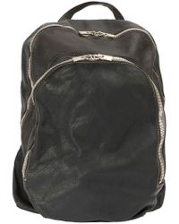 Guidi - Double Zipped Backpack - Lyst