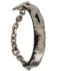 Tobias Wistisen - Worn Leather Bracelet - Lyst