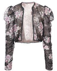 Anna Sui - Chaqueta de encaje con diseño bordado - Lyst