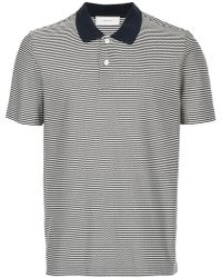 Cerruti 1881 - Striped Polo Shirt - Lyst