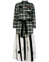 Caban Romantic - Belted Shirt Dress - Lyst