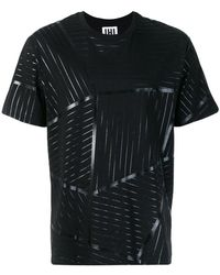 Les Hommes - Geometric Printed T-shirt - Lyst