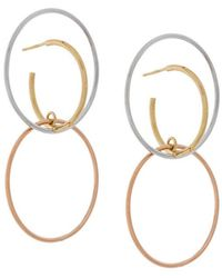 Galilea medium earrings - Metallic Charlotte Chesnais 7FndF5