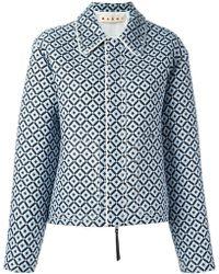 Marni - Tracery Print Jacket - Lyst