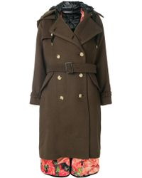 Facetasm - Double Breasted Coat - Lyst