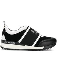 Love Moschino - Logo Sneakers - Lyst