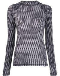 Lala Berlin - Printed Long Sleeve Top - Lyst