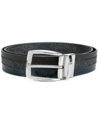 Etro - Striped Belt - Lyst