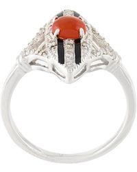 V Jewellery - Scarlett Ring - Lyst