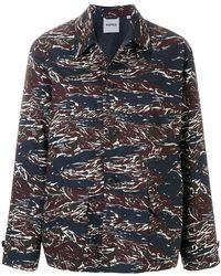 Aspesi | Patterned Shirt Jacket | Lyst