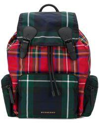 Burberry | Designer Check Backpack | Lyst