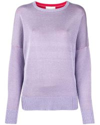 Laneus - Loose Fit Jumper - Lyst