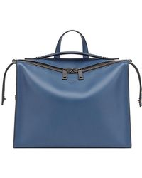 Fendi - Rectangular Zipped Messenger Bag - Lyst