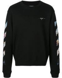 cc2f6a80226 Off-White c o Virgil Abloh - Arrows Sweatshirt - Lyst