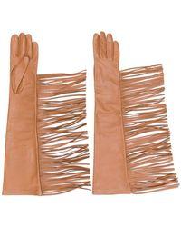 Manokhi - Fringed Gloves - Lyst