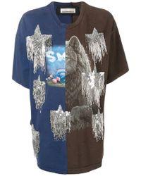 Night Market - Twinstar Print T-shirt - Lyst