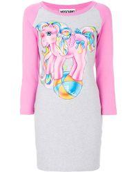 Moschino - My Little Pony Raglan T-shirt Dress - Lyst