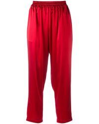 Gianluca Capannolo - Cropped Trousers - Lyst