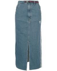 Hysteric Glamour - Adios Front Slit Denim Skirt - Lyst