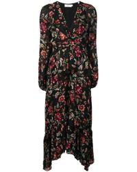 A.L.C. - Vestido floral a capas - Lyst