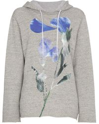 Golden Goose Deluxe Brand - Loretta Hoodie With Floral Motif - Lyst