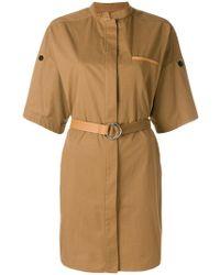 Yves Salomon - Belted Utility-style Dress - Lyst