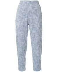 Rachel Comey - Slim-fit Cropped Trousers - Lyst
