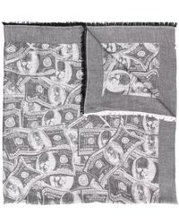 Philipp Plein - Dollar Print Foulard - Lyst
