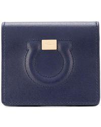Ferragamo - Stitched Gancio Wallet - Lyst