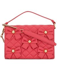 Boutique Moschino - Quilted Shoulder Bag - Lyst