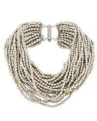 Marc Le Bihan - Multiple Beads Necklace - Lyst
