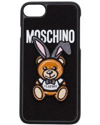 Moschino - Playboy Iphone 7 Case - Lyst
