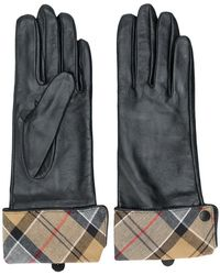 Barbour - Checked Lining Gloves - Lyst
