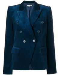Stella McCartney cord double-breasted blazer Buy Cheap Exclusive Buy Cheap Extremely Buy Cheap Eastbay For Nice Sale Online Outlet Store RIFSky