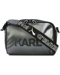 PUMA - X Karl Lagerfield Shoulder Bag - Lyst 71aae6fed29c5
