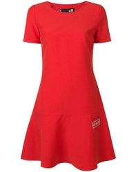 Love Moschino - Ausgestelltes Kleid - Lyst