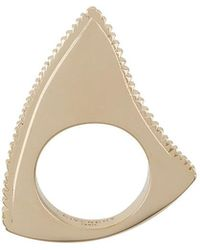Givenchy - Jagged Ring - Lyst