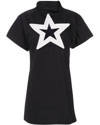 KTZ - Star Cut-out Dress - Lyst