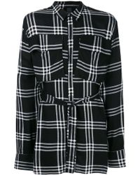 Odeur - Oversized Check Shirt - Lyst