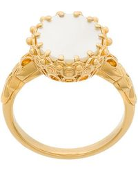 Astley Clarke - Mother Of Pearl Large Floris Ring - Lyst