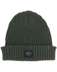 Paul & Shark - Ribbed Beanie - Lyst