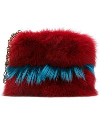 Mr & Mrs Italy - Chain Detail Clutch - Lyst