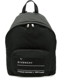 Givenchy - Text Logo Backpack - Lyst