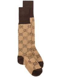 Gucci - Calcetines GG estampados - Lyst