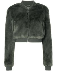 Ash - Textured Cropped Jacket - Lyst